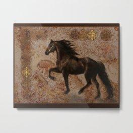 The Emperor's Stallion Metal Print