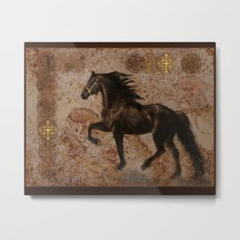 The Emperor's Stallion Metal Print