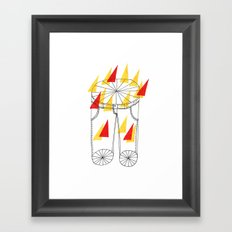 Hot Pants Framed Art Print
