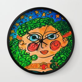 """Billie"" Wall Clock"