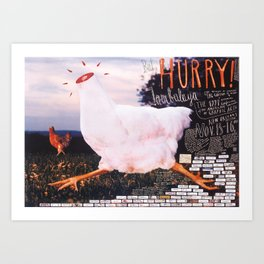 Aiga New Orleans Jambalaya poster Art Print
