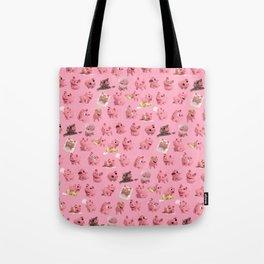 Rosa the Pig Pattern Tote Bag
