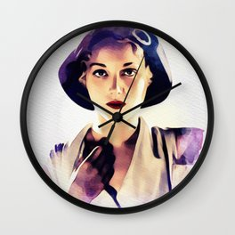 Leila Hyams, Vintage Actress Wall Clock