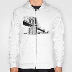 Brooklyn Bridge Black and White Hoody