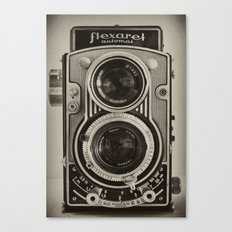 Flexaret | Vintage Camera Canvas Print
