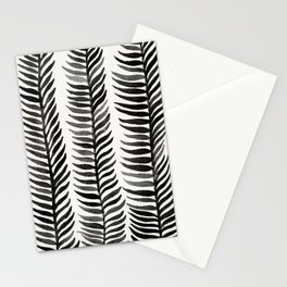 Black Seaweed Stationery Cards