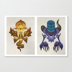 Universal Complements Canvas Print