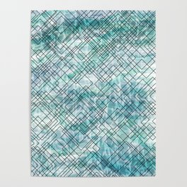 Square Waves Poster