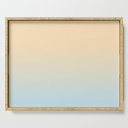 DRY DESSERT - Minimal Plain Soft Mood Color Blend Prints Serving Tray