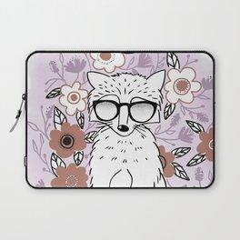 Raccoon in a Garden Laptop Sleeve