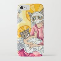 christ iPhone & iPod Cases featuring Internet Christ  by Quigley Down Under