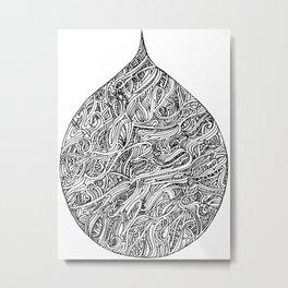 A drop in the bucket Metal Print