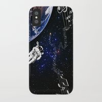 space jam iPhone & iPod Cases featuring It's a Space Jam by Allison M Peret-DeRosia