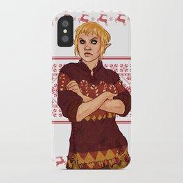 Very Merry Sera iPhone Case