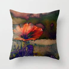 Her Dreams Were Vivid and Colorful Throw Pillow