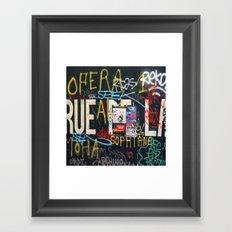 RUEDELA Framed Art Print