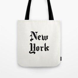 New York (Watercolor) Tote Bag