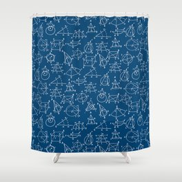 School chemical #8 Shower Curtain