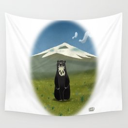 Spectacled bear Wall Tapestry