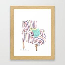 Sofa Framed Art Print
