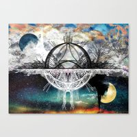 discount Canvas Prints featuring TwoWorldsofDesign by J.Lauren