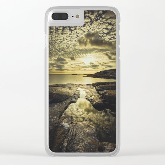 Good night sweet sun Clear iPhone Case