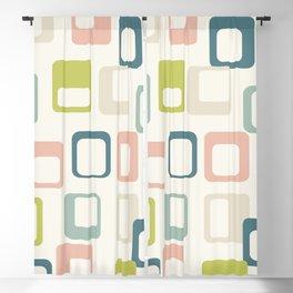 Mid Century Modern Geometric Art Pastel #society6 #buyart Blackout Curtain