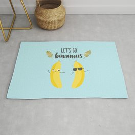 Let's go bananas Rug