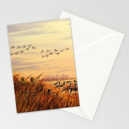 Goose Hunting Companions Stationery Cards