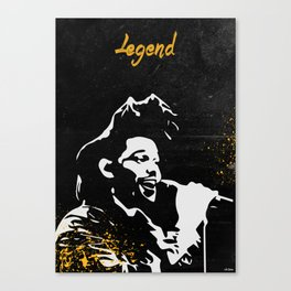 The Weeknd - Legend Canvas Print
