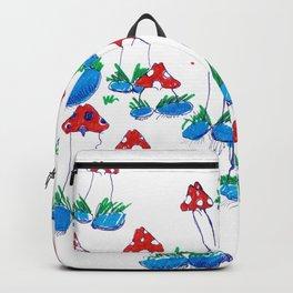 Crazy Xmas Mushrooms - Gift Idea Backpack