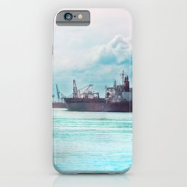 Big Ship on the Mississippi iPhone Case