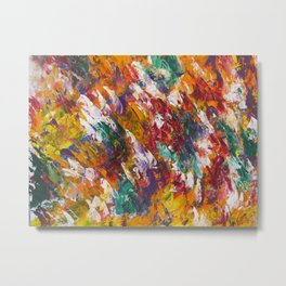 """""""Unity"""" Abstract Acrylic by Noora Elkoussy Metal Print"""