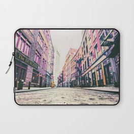 Stone Street - Financial District - New York City Laptop Sleeve