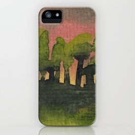 The Woods I Pink iPhone Case