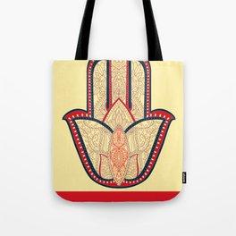 Rubino One World Red Yoga Hand Tote Bag