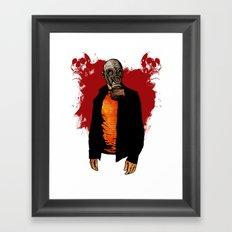 The Haunted Hunter Framed Art Print