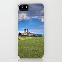 Kloster St. Morgen im Schwarzwald iPhone Case