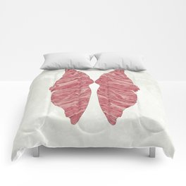 Abstract Butterfly Wings Design Comforters
