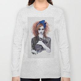 Miss Emma & Her Bunny Long Sleeve T-shirt