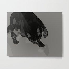 Sneak Metal Print