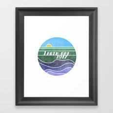 Earth Day 2017 Framed Art Print