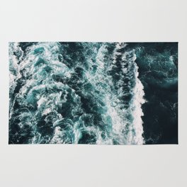Green Seas, Yes Please Rug