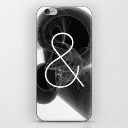 Dark Math. Ampersand (&) iPhone Skin