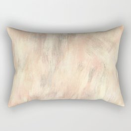Bisque salmon grey batic look Rectangular Pillow