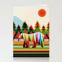 camouflage Stationery Cards featuring Camouflage by milanova