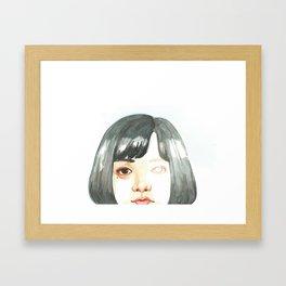 Unfinished Eye Framed Art Print