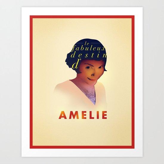 Amelie Art Print