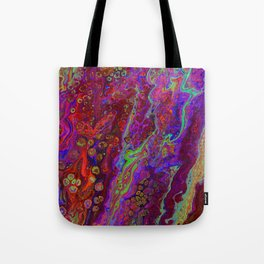 Green Pour Inverted 9 Tote Bag