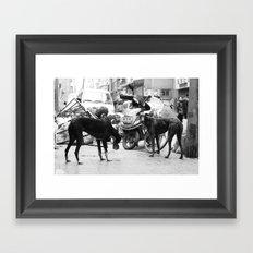 DOGZ Framed Art Print